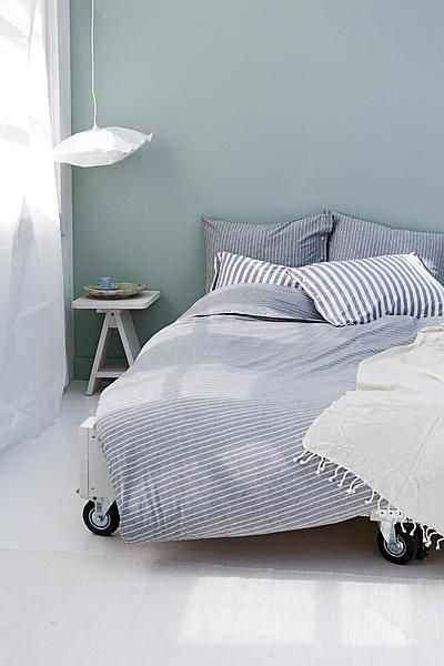 De slaapkamer is de ruimte waar je dag begint, en eindigt. - Anita ...