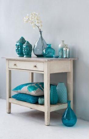 Stunning Turquoise Accessoires Woonkamer Pictures - New Home Design ...